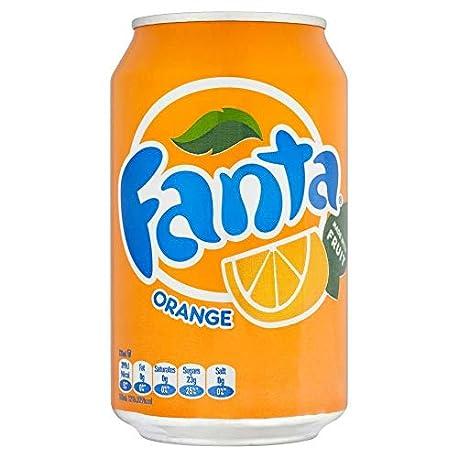 Fanta Naranja 330ml paquete de 24 x 330 ml