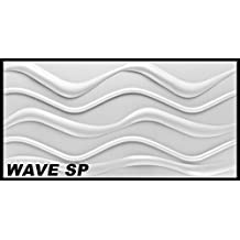 1 m2 pannelli 3d polistirolo parete copertura pannello placca da parete 100x50cm wave sp