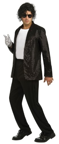 Jacket Michael Jackson Billie Jean deluxe erwachsene sequined