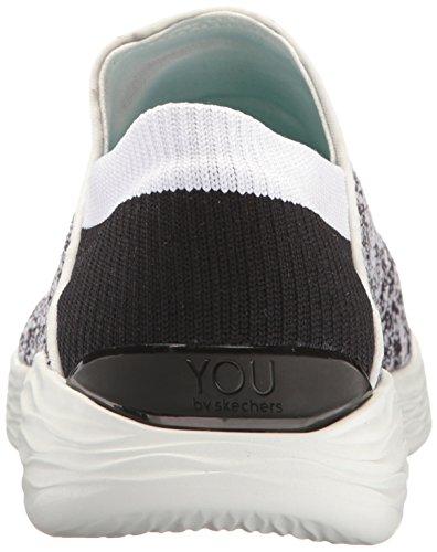 Skechers You, Sneakers Basses Femme Blanc (Wbk)