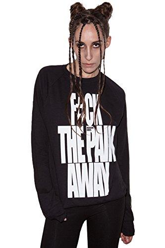 HEROIN-KIDS-CLOTHING-Damen-Sweatshirt-FCK-THE-PAIN-AWAY-HKCSW030B
