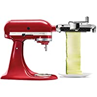 KitchenAid KSMSCA. Tipo di affettatrice: Elettrico, Colore del prodotto: Rosso Caratteristiche -Tipo di affettatrice: Elettrico -Colore del prodotto: Rosso -Lavabile in lavastoviglie: Sì -Interruttore integrato: Sì