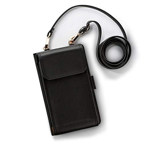 CHAOY Kleine Umhängetasche, Handy Geldbörse Smartphone Geldbörse Leichte Geräumige Reisepass Tasche Crossbody Handtaschen für Frauen,1