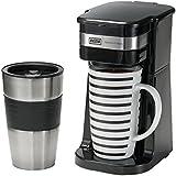 Hoberg Café-BoXX - Máquina de café individual, color negro