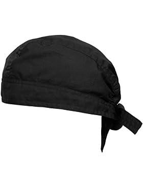 Bandana pañuelo para la cabeza pre atada negro