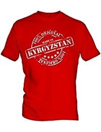 Made In Kyrgyzstan - Mens T-Shirt T Shirt Tee Top
