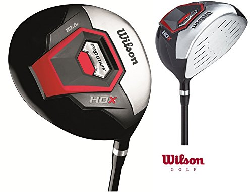Wilson-Prostaff-Graphite-Shafted-HDX-Irons-Graphite-Shafted-HDX-Woods-Super-Deluxe-Mens-Complete-Golf-Club-Set-Prostaff-BlackRed-Cart-Bag-Mens-Right-Hand-Limited-Edition-Only-available-from-The-Golf-S