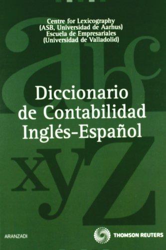 Diccionario de contabilidad inglés-español (de la A a la Z) por Pedro Fuertes Olivera