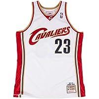 the latest 5ab97 491ba Mitchell   Ness Cleveland Cavaliers 23 Lebron James Swingman Retro Trikot  Jersey