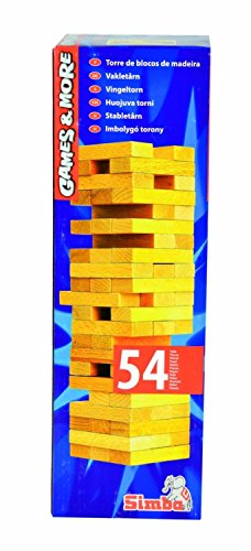 Simba 106125033 - Games and More, Torre in legno [importato dalla Germania]