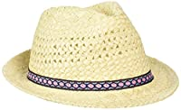 Fat Face Girl's Trilby Hat, Beige (Natural), Small (Manufacturer Size: S)