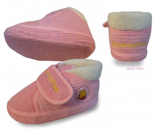 Pooh Kostüm Soft Winnie The - Winnie the Pooh Pink Shoes Baby Größe UK: 1& EU: 16