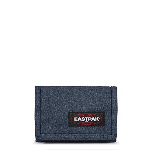 Eastpak Crew Single Porte-monnaie, 13 cm, Bleu (Double Denim)