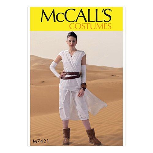 McCall 's Patterns 7421Miss Schnittmuster Kostüm Schnittmuster, Tissue, mehrfarbig, Größen (Mccalls Kostüm Muster)