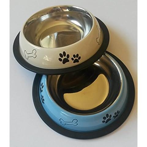 Schulz 21059 ciotola per cibo per cani/gatti - max. 16 cm - colorata