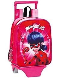 Ladybug Spain - Marinette Mochila infantil, 28cm, Rosa