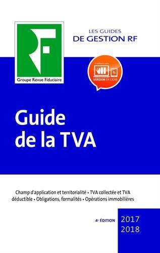 Guide de la TVA: 2017-2018