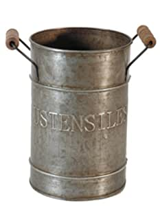 "Pot zinc ""ustensiles"""