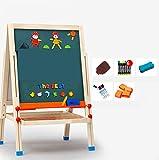HAOCHIDIAN Chevalet d'art pour Enfants Petit Tableau de Dessin magnétique Tableau...