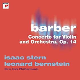 Barber: Concerto For Violin And Orchestra, Op. 14