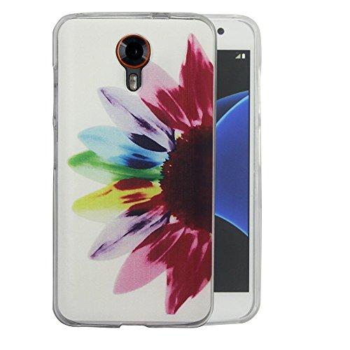 dooki, Smart Prime 7Schutzhülle, dünn weich Gummi TPU inkl. Telefon Zubehör Decke Schutzhülle für Vodafone Smart Prime 7