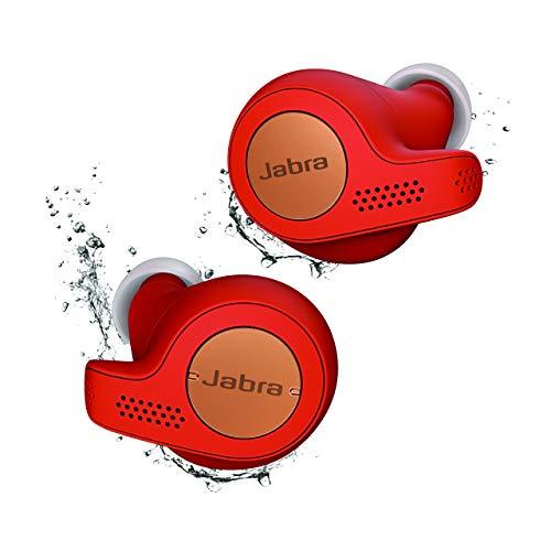 Jabra Elite Active 65t True Wireless Stereo in-Ear Sport-Kopfhörer (Bluetooth, Musik Hören und telefonieren, Sprachsteuerung für Alexa, Siri und Google Assistant) kupfer rot