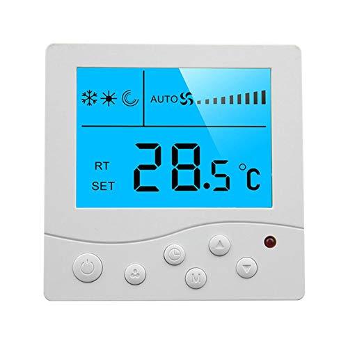 Thermostat-fan-schalter (NAKELUCY Wi-Fi Smart Thermostat Für Smart Home, DIY Version, Zentrale Klimaanlage Bedienfeld Fan Coil LCD Programmierbarer Thermostat Thermostat Schalter Für Office Home)