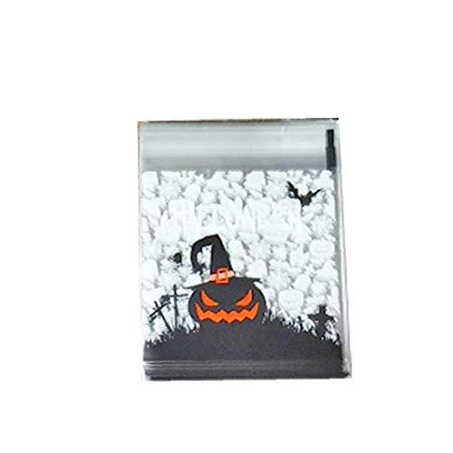 Hausgemachte Halloween Behandeln Tasche - 1 Satz Self Adhesive Candy Bag