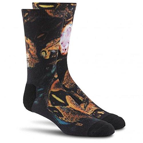 reebok-calcetines-de-deporte-para-hombre-negro-44