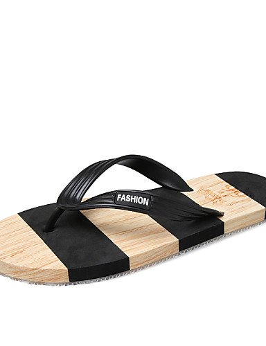Spokey Flip-Flops für Frauen, CHILLOUT Pool-Hausschuhe schwarz und weiß