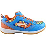 Li-Ning Blue Badminton Shoes-Camo Star