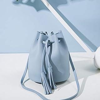Tasche für Eimer, modisch, Leder, Textur, für Mädchen