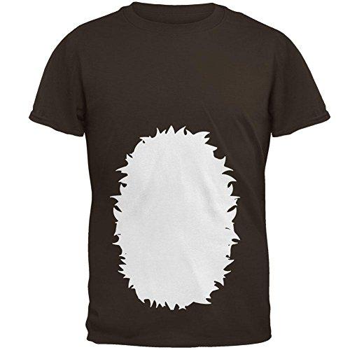 Fawn Kostüm Herren-T-Shirt Braun SM (Fawn Halloween Kostüm)