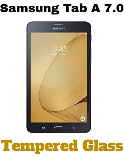 M.G.R.J Pro HD+ Tempered Glass Screen Protector for Samsung Galaxy Tab A 7.0 Tablet (T280 / T285) (7\