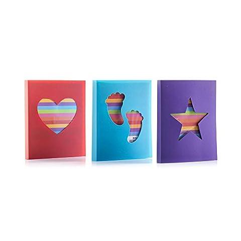Set of 3 Mini 6x4 Slip-in Albums
