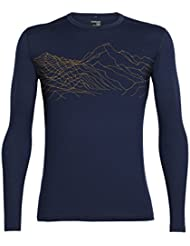Icebreaker Oasis T-Shirt à Manches Longues Crewe topochartic Base