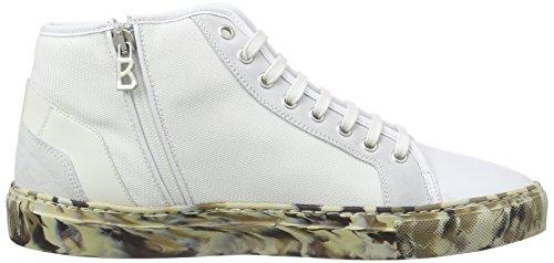 Bogner Nizza 12 A, Baskets hautes homme Blanc - Weiß (white 10)