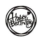 lailongp Alles Gute zum Geburtstag Metall Stanzformen, DIY Schablone, Dekor für Scrapbooking Album Stempel Papierkarte, Prägung Craft Decor, Kinder Geschenk