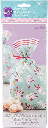Wilton Ostern Bunnies und Baby Küken behandeln Taschen, Mehrfarbig, 20Stück (Ostern Behandeln Taschen)