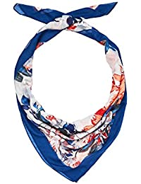 HALLHUBER Floral scarf with contrasting edge