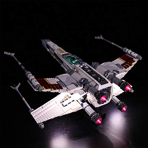 TETAKE Licht Beleuchtung LED Beleuchtungsset für Lego 10240 - Red Five X-Wing - Lego Wing X 10240