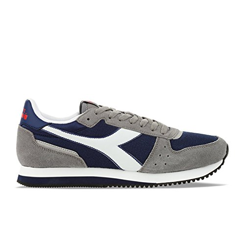 Diadora Malone, Scarpe da Corsa Unisex Adulto Estate Blue / Ice Grey
