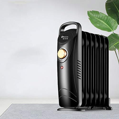 Ölheizung, Überhitzungsschutz, Portable Compact Mini Radiator für Haus und Büro, 700W, Klein. (Portable öl Gefüllt Heizung)