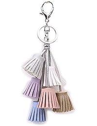 Boho Frauen Bunte Quaste Schlüssel Kette Handtasche Zubehör Auto Schlüsselanhänger Handtasche Decor Mutter & Kinder