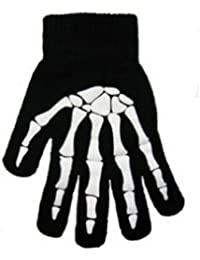 Skull And Crossbones Magic Gloves Choice Of 3 Designs One Size