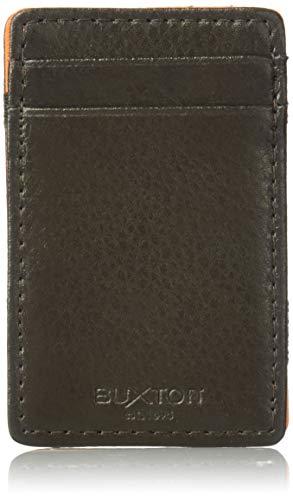 Buxton Herren iD Magic Wallet Geldbörse, braun, Standard -