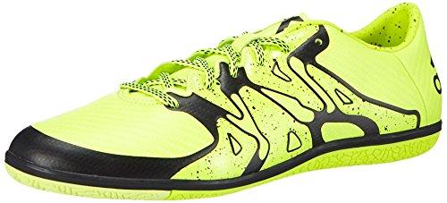 adidas Herren Chaos Low Indoor Fußballschuhe, Gelb Solar Yellow/Core Black), 43 1/3 EU