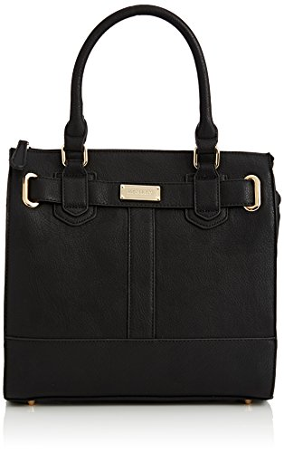 Henley Ingrid, Borsa a secchiello donna Nero (Black (All Black))