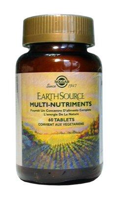 SOLGAR Earth Source Multi Nutriments - 90 comprimés
