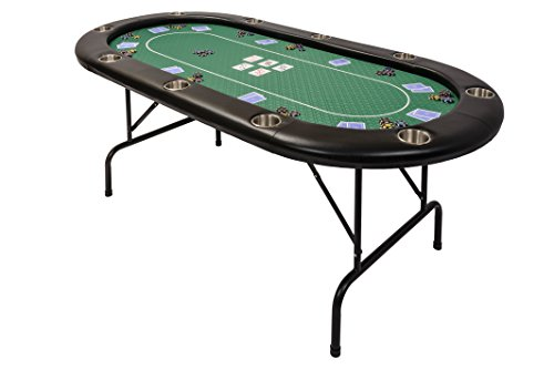 riverboat-tl-poker-table-in-green-speed-cloth-and-folding-legs-213cm